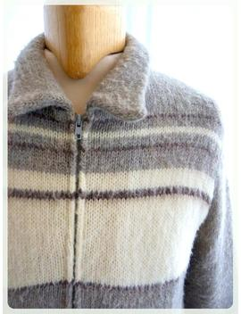 Tundra Man Sweater / Knit   Pure Virgin Wool by Etsy
