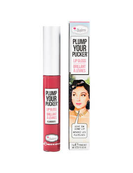 The Balm Plump Your Pucker Lip Gloss (Various Shades) by The Balm