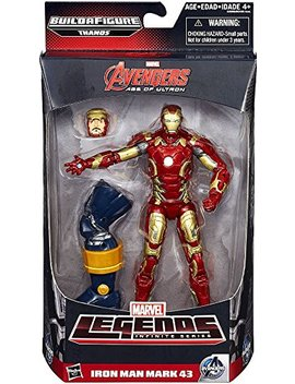 Marvel Legends Infinite Series Iron Man Mark 43 6 Inch Figure by Marvel