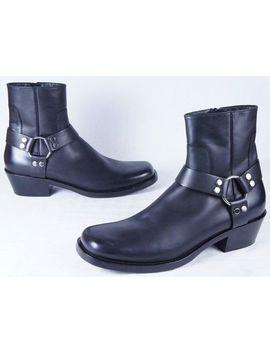 Balenciaga Rider Harness Boots (Mens 46 Eu/13 Us) by Balenciaga