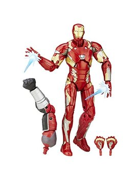 Marvel 6 Inch Legends Series Iron Man Mark 46 Figure by Marvel