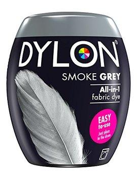 Dylon Machine Dye Pod, Smoke Grey, Easy To Use Fabric Colour For Laundry, 350g by Dylon
