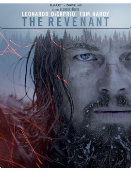 Ay] [Steel Book] [2015] by The Revenant [Includes Digital Copy] [Bl