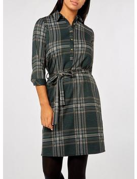 Multi Colour Check Jersey Shirt Dress by Dorothy Perkins