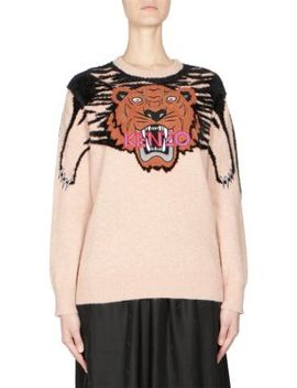 Tiger Mohair Sweater by Kenzo