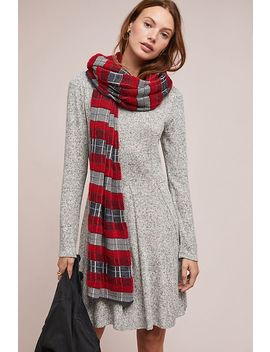 neige-brushed-fleece-dress by dolan-left-coast