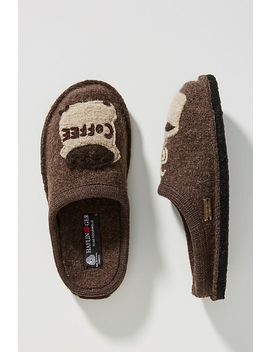 Haflinger Coffee Slippers by Haflinger