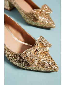 Farylrobin Flora Glitter Heels by Farylrobin