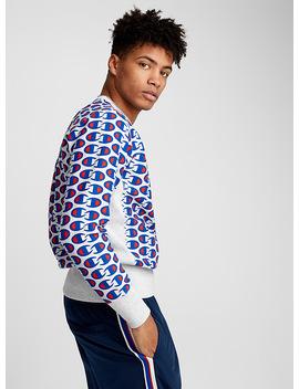 Multi Initial Logo Sweatshirt by Champion Reverse Weave