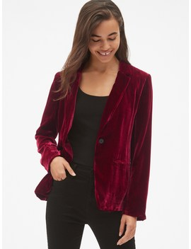 Velvet Blazer by Gap