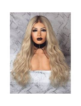 "<P>Long Ombre Natural Wavy Middle Part Synthetic Wig</P><I Class=""Icon Down Js Tap Up Down""></I> by Dress Lily"