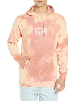 Jumble Bleach Dye Pullover Hoodie by Obey