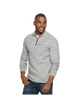Men's Marc Anthony Slim Fit Quarter Zip Sweater by Kohl's