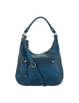 Frye Leather Melissa Zip Hobo Handbag by Qvc