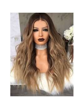 "<P>Middle Part Colormix Long Wavy Heat Resistant Synthetic Wig</P><I Class=""Icon Down Js Tap Up Down""></I> by Dress Lily"