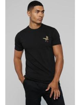 Early Bird Short Sleeve Tee   Black by Fashion Nova
