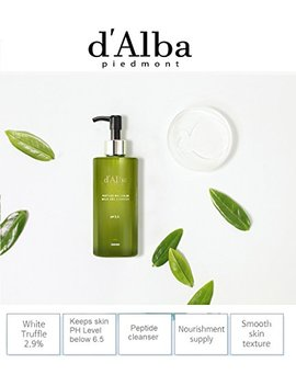 D'alba Peptide No Sebum Mild Gel Cleanser For Acne Prone Sensitive And Dry Skin by D'alba Piedmont