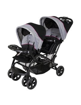 Baby Trend Sit 'n Stand Double Stroller, Millennium Pink by Baby Trend