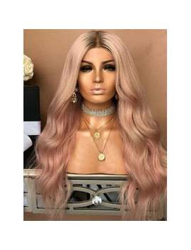 "<P>Middle Part Long Gradient Wavy Party Synthetic Wig</P><I Class=""Icon Down Js Tap Up Down""></I> by Dress Lily"