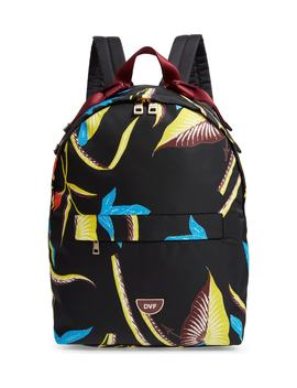 Dvf Print Nylon Backpack by Diane Von Furstenberg