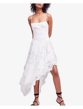 Love To Love You Asymmetrical Crochet Dress by Free People