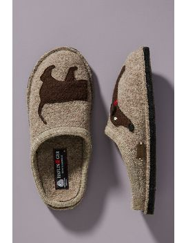 Haflinger Doggy Slippers by Haflinger
