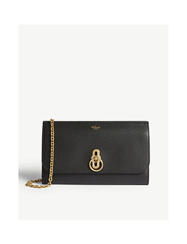 Leather Wallet On Chain by Mulberry