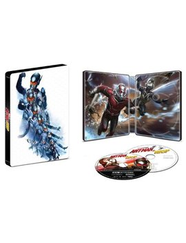 An And The Wasp [Steel Book] [Digital Copy] [4 K Ultra Hd Blu Ray/Blu Ray] [Only @ Best Buy] [2018] by An