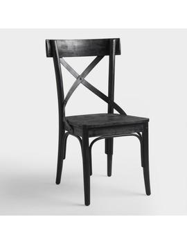 Black Bistro Side Chairs, Set Of 2 by World Market