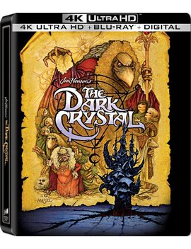 Ay/Blu Ray] [Only @ Best Buy] [1982] by The Dark Crystal [Steel Book] [4 K Ultra Hd Bl