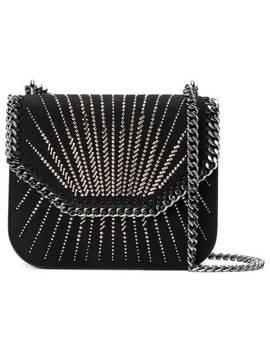 Crystal Embellished Falabella Box Shoulder Bag by Stella Mc Cartney
