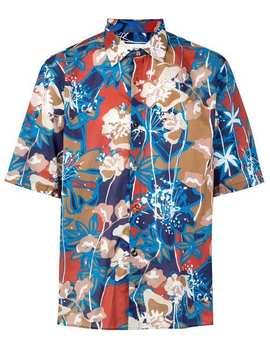 Floral Shortsleeved Shirt by Costumein