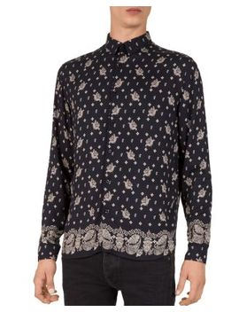Bandana Print Slim Fit Shirt by Bloomingdales