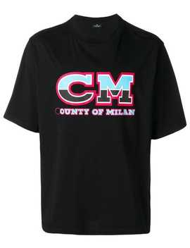 Cm T Shirt by Marcelo Burlon County Of Milan