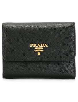 Saffiano Tri Fold Wallet by Prada