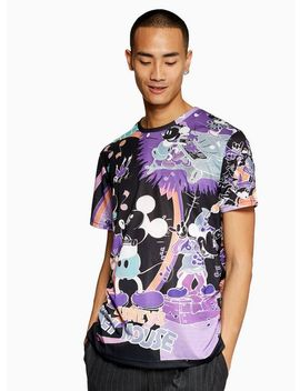 Purple Mickey Mouse T Shirt by Topman