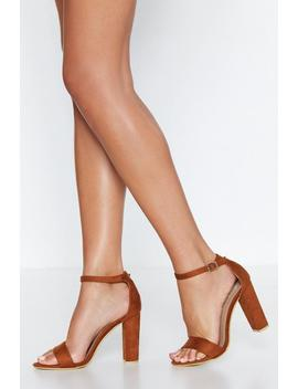 Flesh Tone 2 Part Heels by Nasty Gal