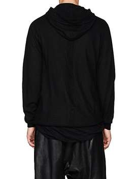 Boiled Cashmere Hoodie by Rick Owens