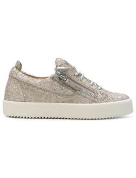Cheryl Glitter Low Sneakers by Giuseppe Zanotti Design