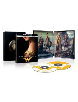 Ay/Blu Ray] [Only @ Best Buy] by Wonder Woman [Steel Book] [Includes Digital Copy] [4 K Ultra Hd Bl