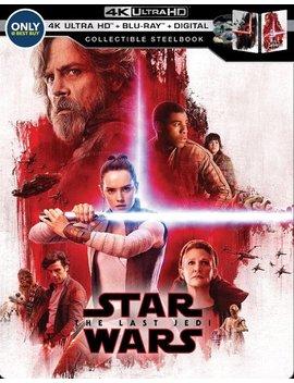Ay/Blu Ray] [Only @ Best Buy] [2017] by Star Wars: The Last Jedi [Steel Book] [Digital Copy] [4 K Ultra Hd Bl