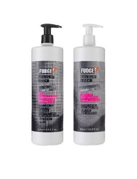Fudge Colour Lock Shampoo 1000 Ml & Conditioner 1000 Ml + Pumps Salon Size Duo by Fudge