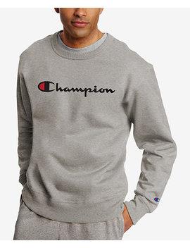 Men's Powerblend Fleece Logo Sweatshirt by Champion