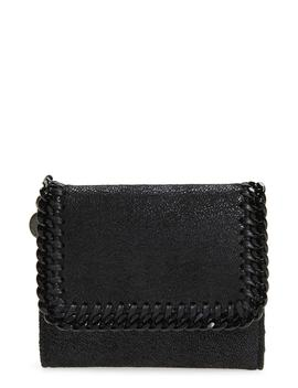 Falabella Faux Leather Shaggy Deer Wallet by Stella Mccartney