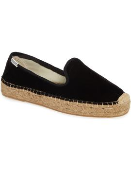 Platform Smoking Slipper Espadrille by Soludos