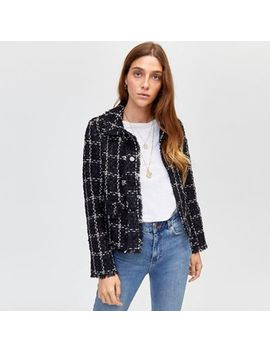 Warehouse   Chenille Tweed Jacket by Warehouse
