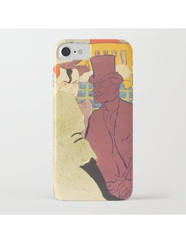 "Henri De Toulouse Lautrec ""Flirt"" I Phone Case by"