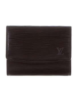 Epi Leather Business Cardholder by Louis Vuitton