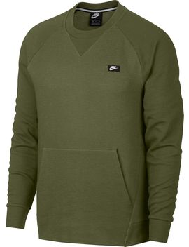 Nike Men's Sportswear Optic Crewneck Pullover by Nike