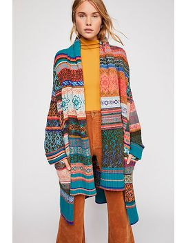 Fantasia Fairisle Cardi by Free People
